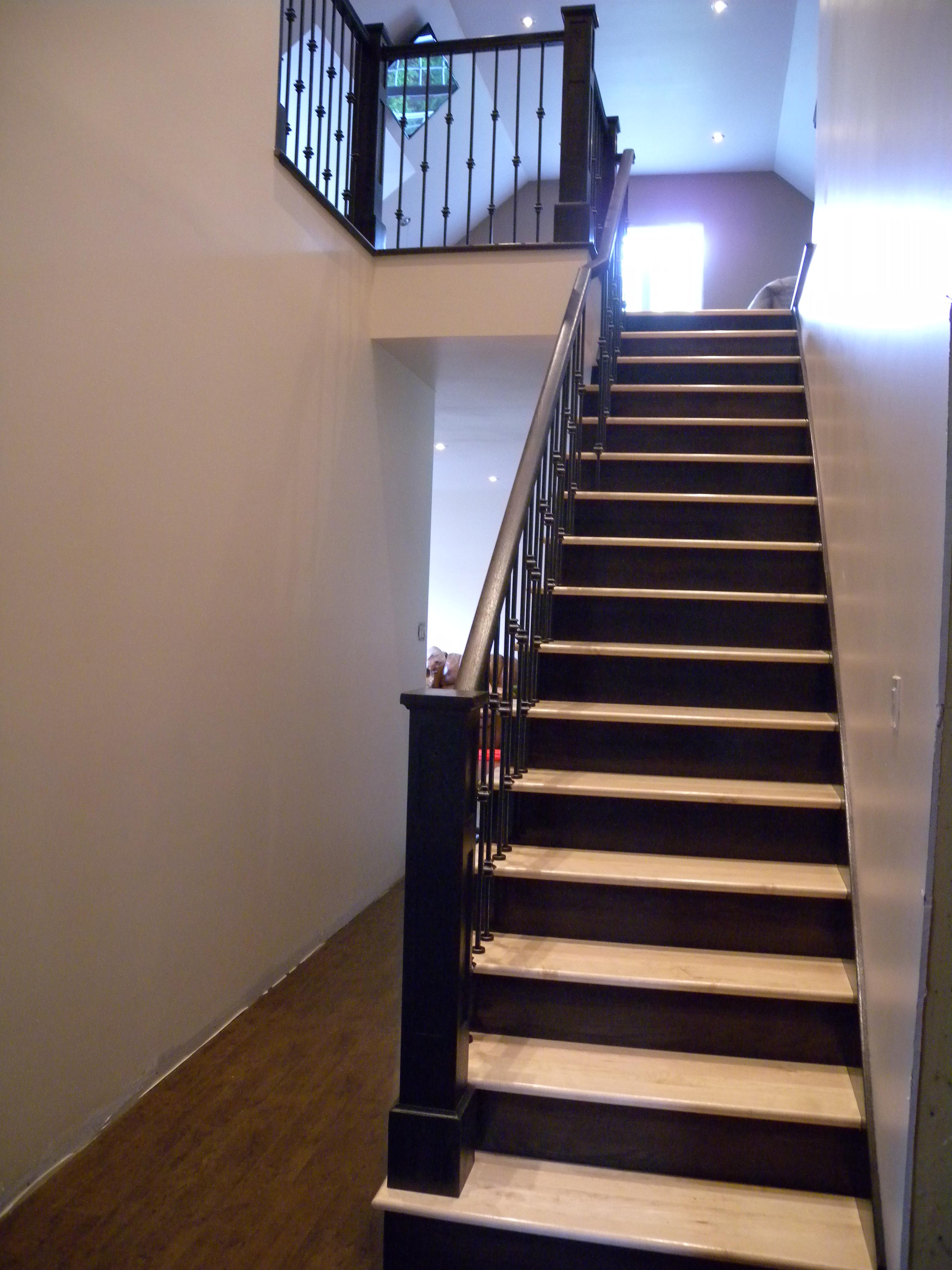 100 escalier bois les 25 meilleures id es la for Meuble brick montreal